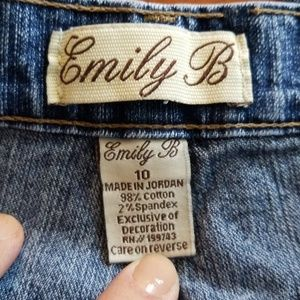 Emily B Jeans - Emily B Exclusive of Decoration Women Jeans 10